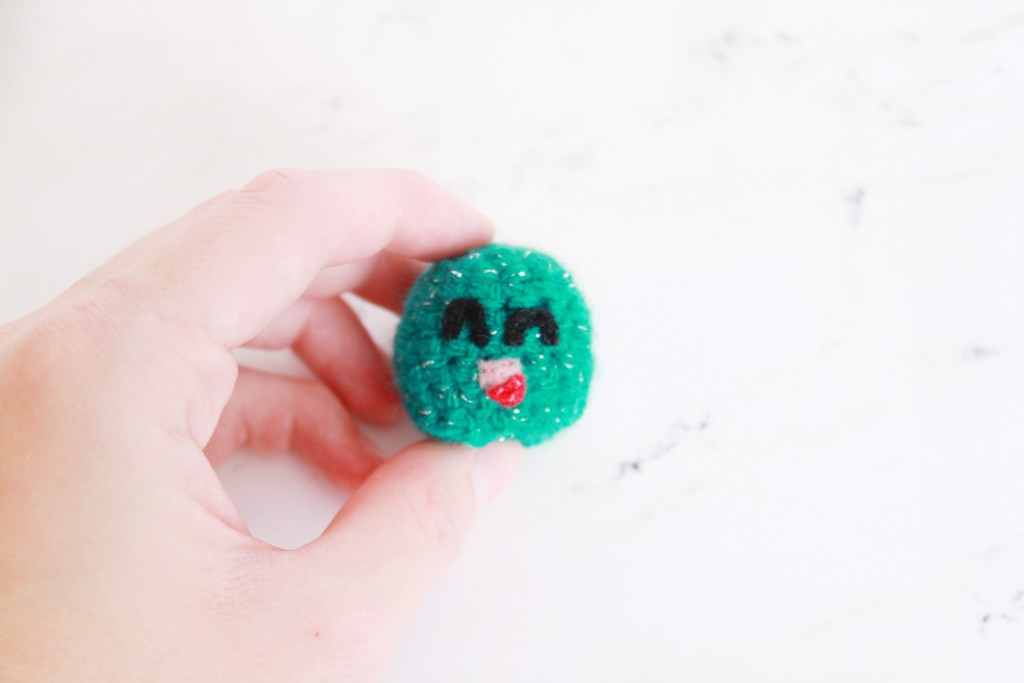 31 Days of Candy Day 4: Goofy Gumdrop Free Crochet Candy Pattern