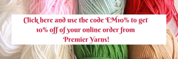 Premier Yarns Coupon Code Banner