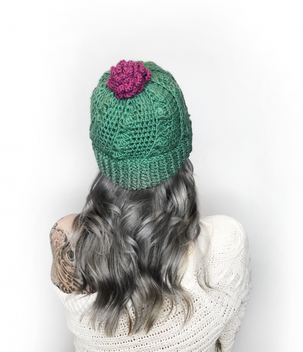 Cactus Hat by Anna from The Knotty Boss