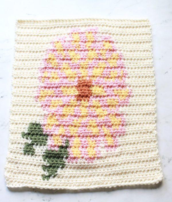 May Flowers Blanket CAL Week 2 – Dahlia Block