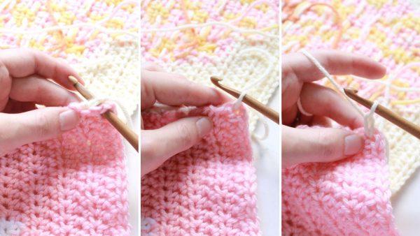 Single Crochet Seam