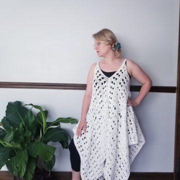 Navarre Crochet Beach Dress: Free Crochet Pattern