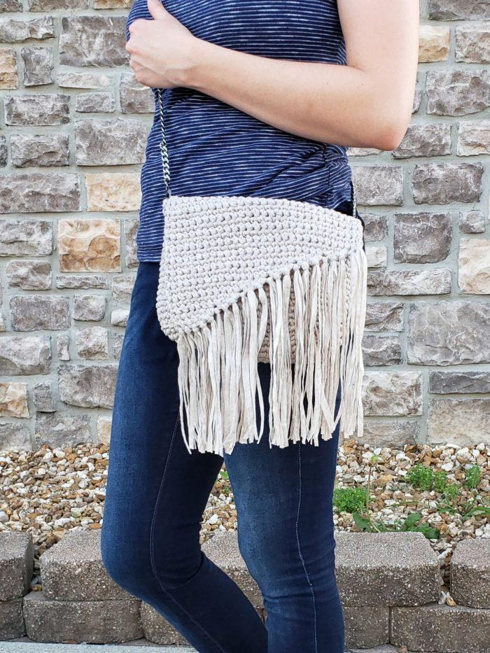 Everyday Boho Bag: Free Crochet Pattern