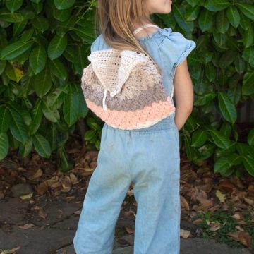 How to Crochet the Lady Jackson Backpack