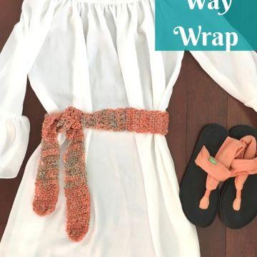 Any Way Wrap: Free Crochet Wrap Pattern
