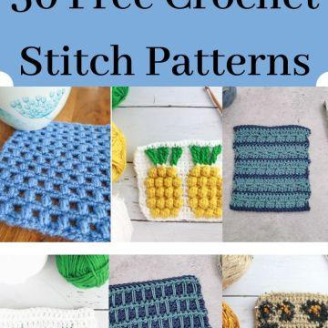 Stitch Exploration: Crochet Stitch Pattern Event