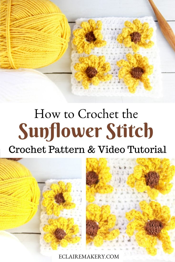 Sonny the Sunflower – Amigurumi Crochet Pattern | | 1102x735