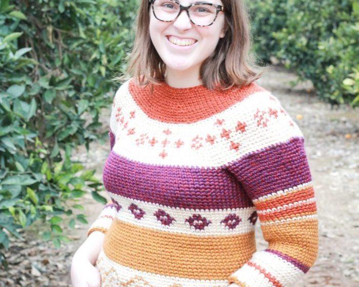 My Beginner Colorwork Sweater: Crochet Fair Isle Sweater Pattern