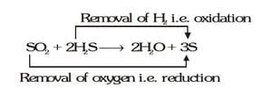 redox reaction example