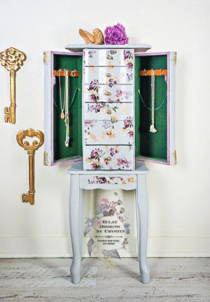 floral-jewelry-armoire-box-organizer-case-cabinet-eclatdesignsbycrystin-5