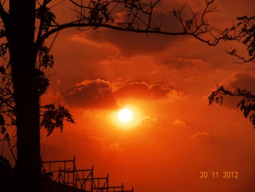 Sunset @PESIT