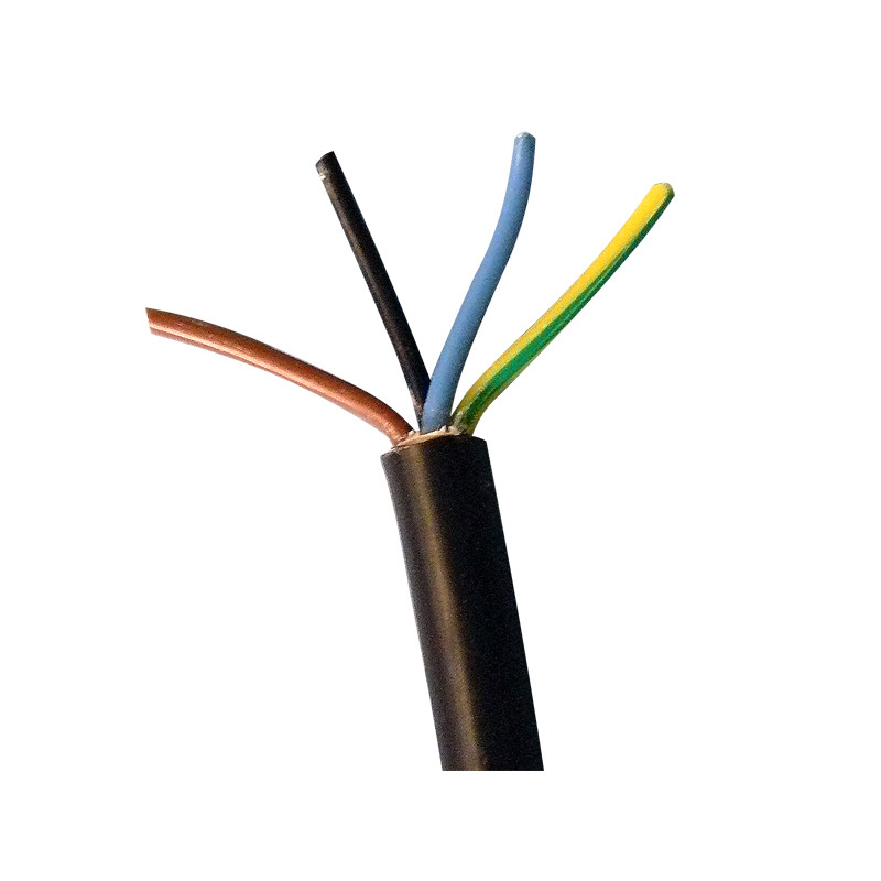 cable electrique 4x1 5 4 fils 1 5mm2 o9mm le metre 4x1 5mm2 u 1000 r2v 4g1 50 rigide secteur eclats antivols
