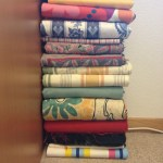 Fabric organization and upcycling