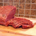 Luck o' the Irish to ye (Homemade corned beef)