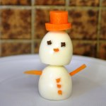 Egg-y the Snowman
