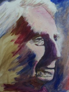 oil of Bertrand Russell