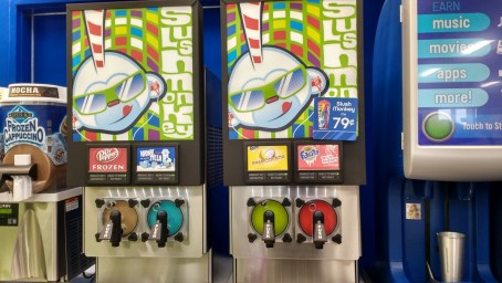 Slush Monkey machines at Stripes #2468 on Wellborn