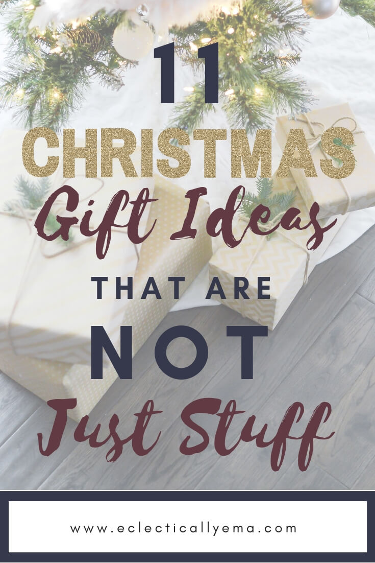 Sentimental Gifts and Gift Ideas that aren't just Stuff  –