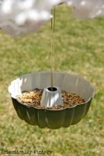 bunt cake bird feeder image