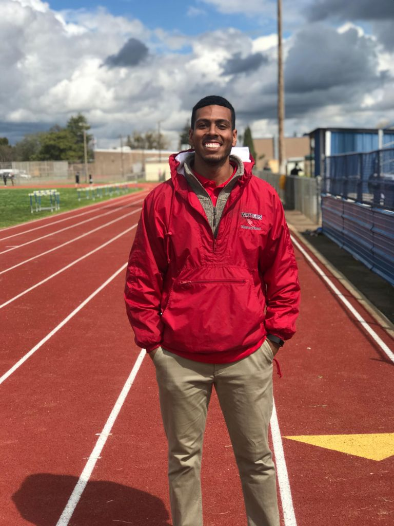 Track and field eclectic athlete