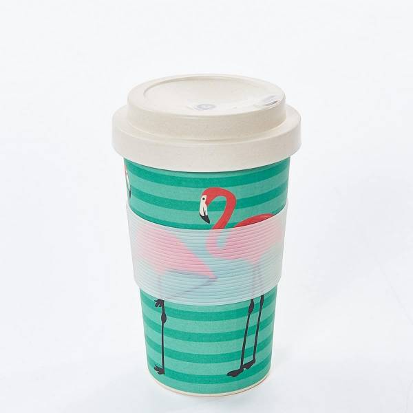 Bamboo Flamingo Coffee Mug