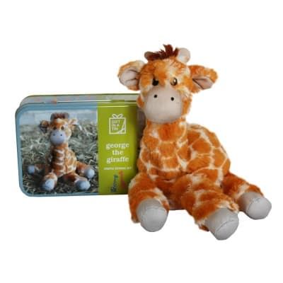 Gift in a Tin – George the Giraffe – Simple Sewing Kit – Original Tin
