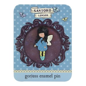 Santoro London - Gorjuss Enamel Pin Bubble Fairy