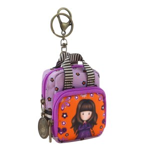 Gorjuss Fiesta Keyring Purse Backpack Shoulder Bag Cobwebs