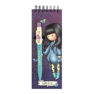 Gorjuss Jotter Pad With Pen Bubble Fairy
