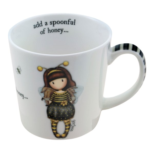 Gorjuss Large Mug Bee-Loved (Just Bee-Cause)
