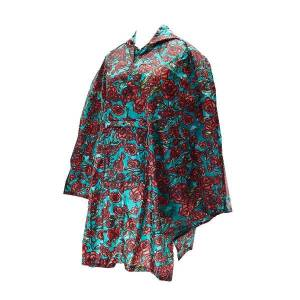 Green Rose Poncho