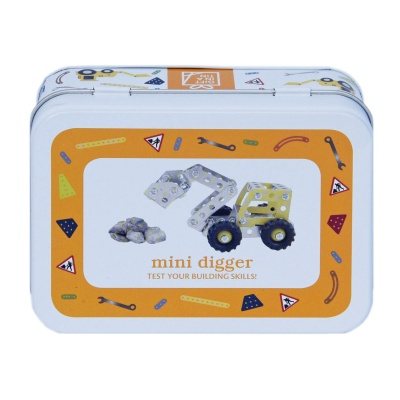 Gift in a Tin – Mini Digger – Mini Tin