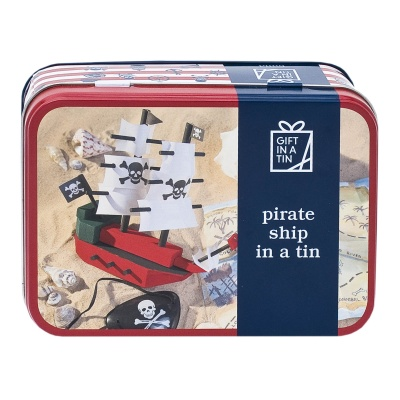 Gift in a Tin – Pirate Ship in a Tin – Original Tin