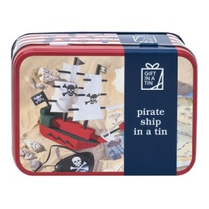 Pirate Ship in a Tin (Original)
