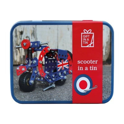 Gift in a Tin – Scooter in a Tin – Original Tin