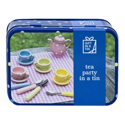 Gift in a Tin – Tea Party in a Tin – Original Tin