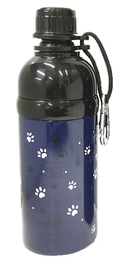 Dog Water Bottle (Navy Friend) 500ml