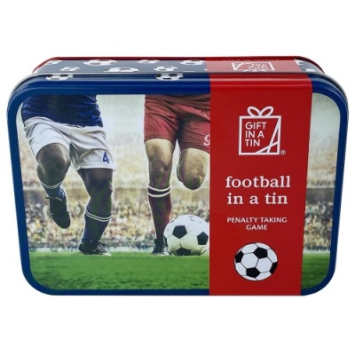 Gift in a Tin – Football in a Tin – Original Tin