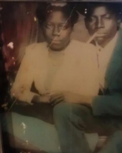 My Grandma and Great-Uncle in Mississippi in the 1940s.