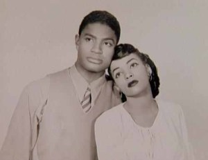 Ruby Dee and Ossie Davis in their youth.