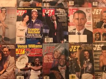 Modern JET mag covers at Harlem Shake