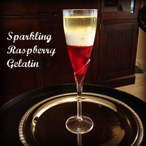 Sparkling Raspberry Gelatin