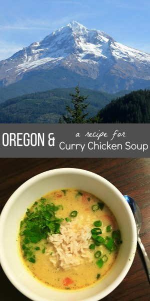 oregon and curry chicken soup