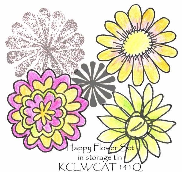 Happy Flower Set