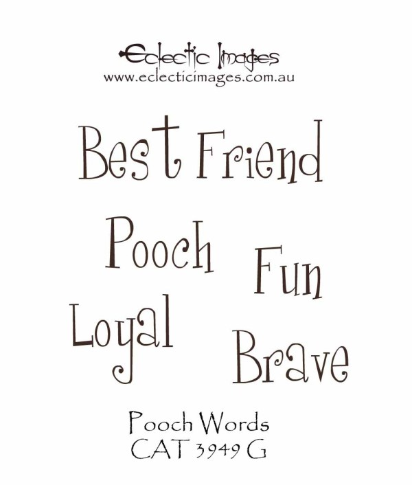 Pooch Words