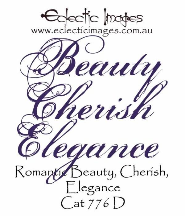 Romantic Beauty Cherish Elegance