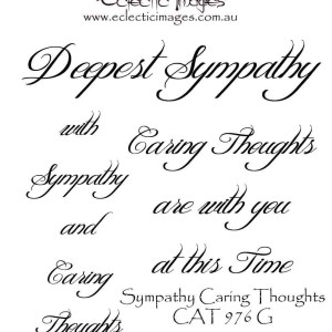 Sympathy Caring Thoughts