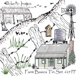 Farm Basics Tin Set