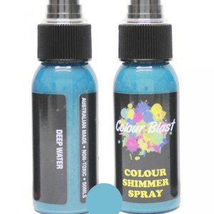 Colour Blast Shimmer Spray Deep Water