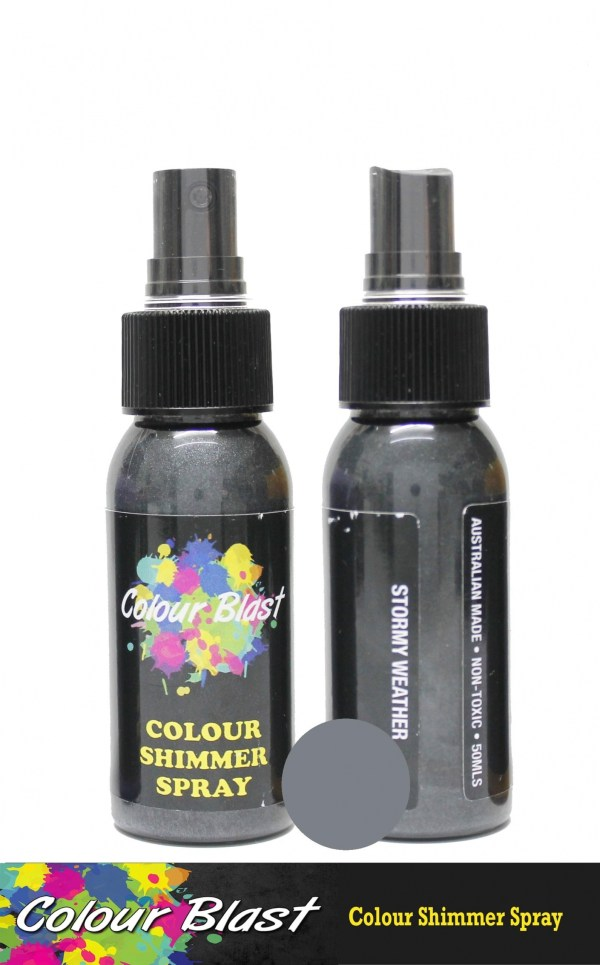 Colour Blast Shimmer Spray Stormy Weather